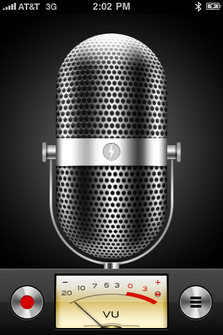 Apple Voice Memos