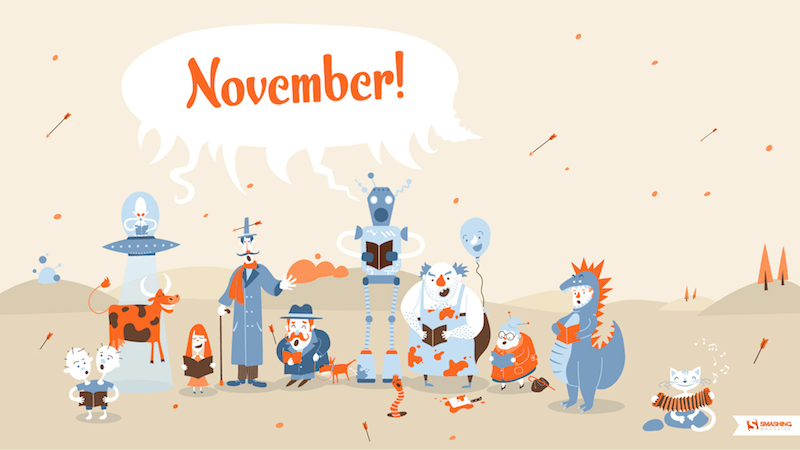 Smashing Wallpaper - november 12