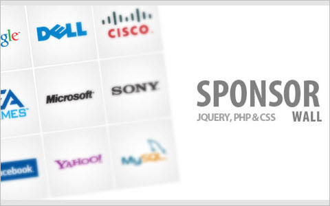 Sponsor Flip Wall With jQuery and CSS