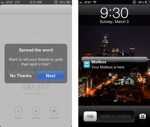 Mailbox's reservation system added to the hype