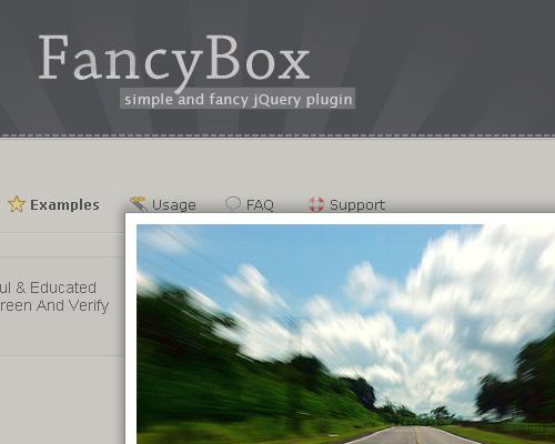 JQuery FancyBox
