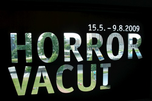 Wayfinding and Typographic Signs - horror-vacui