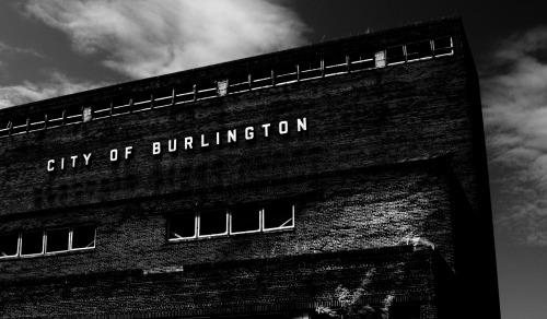 Wayfinding and Typographic Signs - city-of-burlington