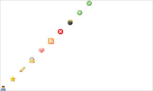 Diagonal CSS Sprites - Aaron Barker