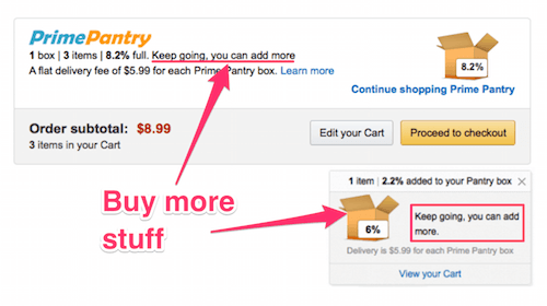 Amazon Pantry: Buy more