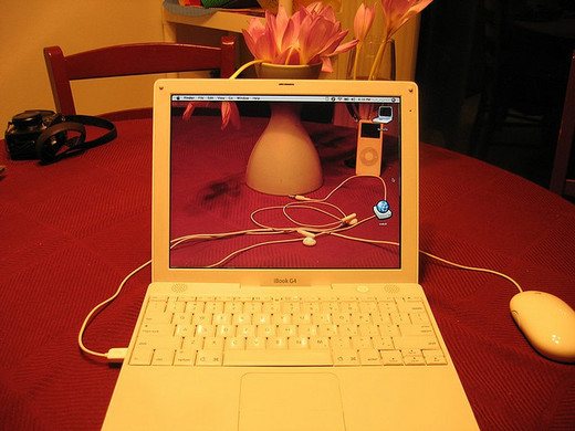 Transparent iBook