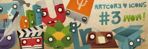 Icons | Artcore Skizzenblog