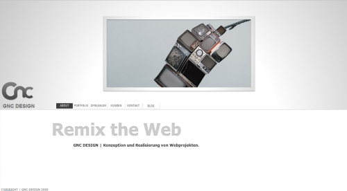 GNC Design in Showcase of Web Design in Germany