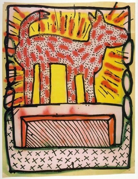 Pop Art Showcase - Keith Haring