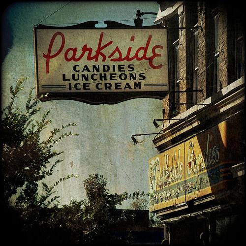 Vintage Signage - Parkside