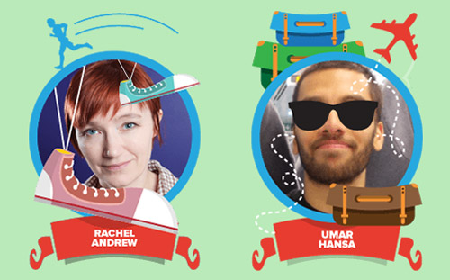 First confirmed speakers: Rachel Andrew and Umar Hansa