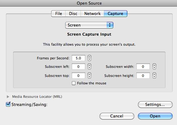 Setting the Video Encoding