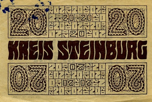 Notgeld design by Wenzel Hablik