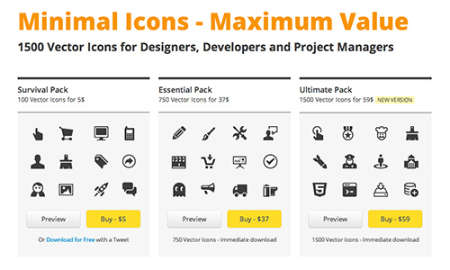 The Minicons icon pack.