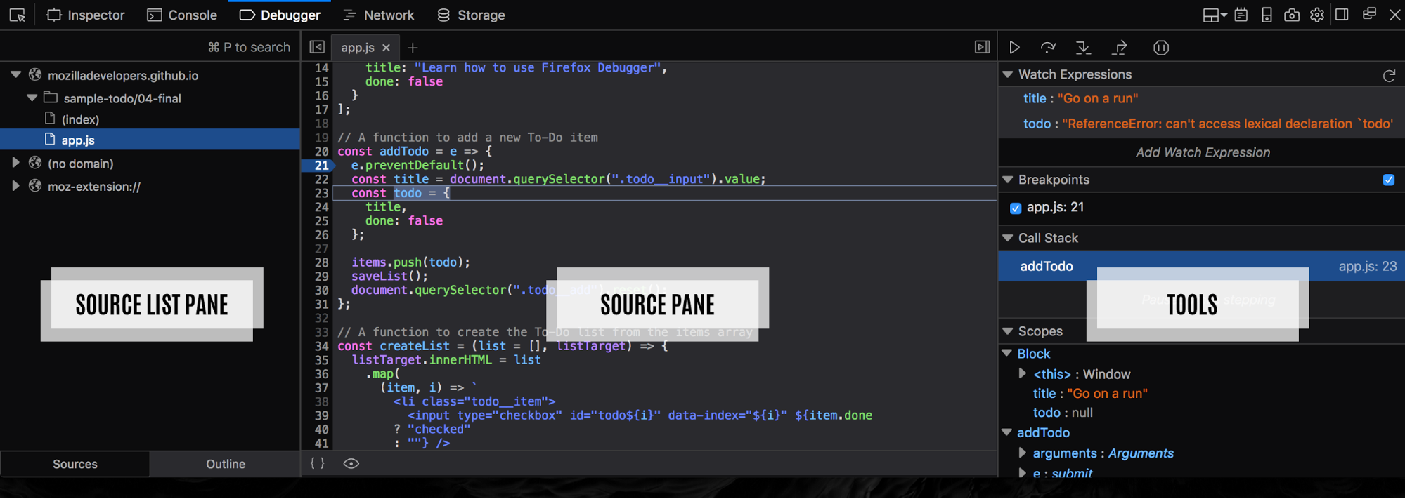 Debugging JavaScript With A Real Debugger You Did Not Know You