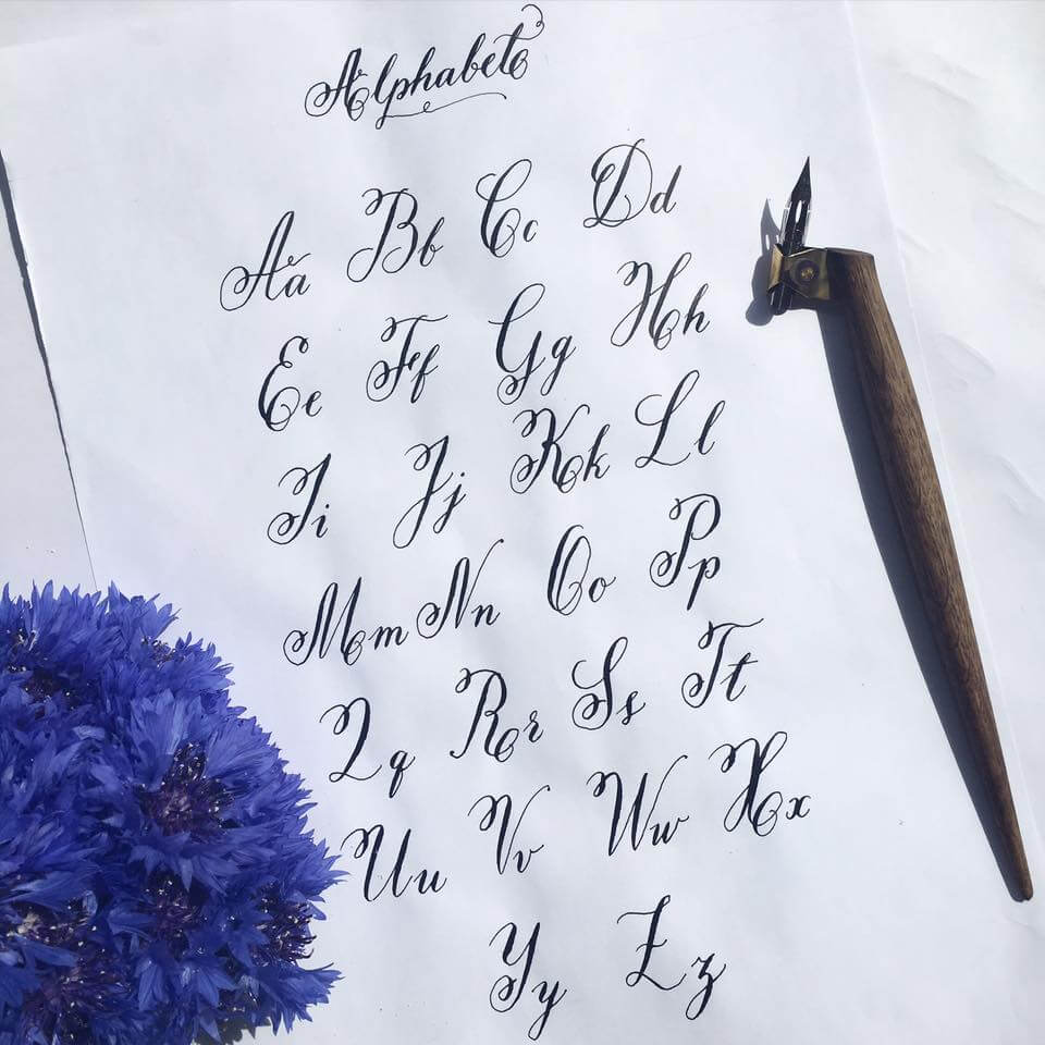 Calligraphy Art Getting Started And Lessons Learned Smashing Magazine