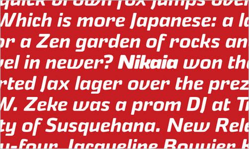 Nikaia™ - Webfont & Desktop Font