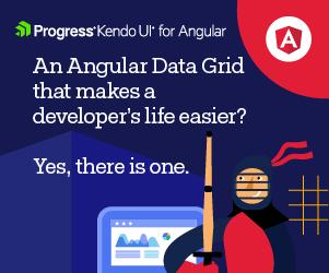 Progress KendoUI for Angular: Try the Angular Grid