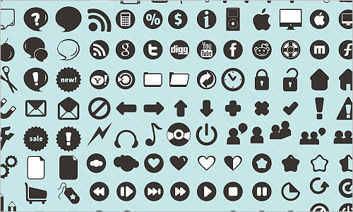 120 free new icons!