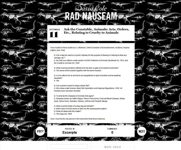 Rad Nauseam