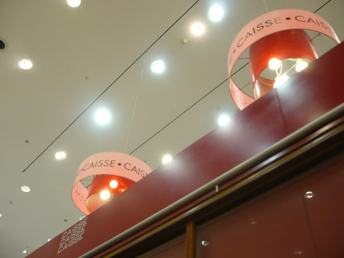 Wayfinding and Typographic Signs - cashdesk-light-2