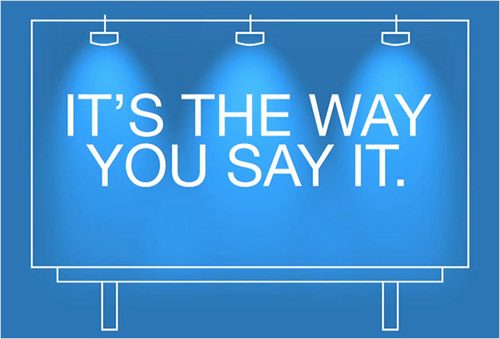 message framing : the way you say it