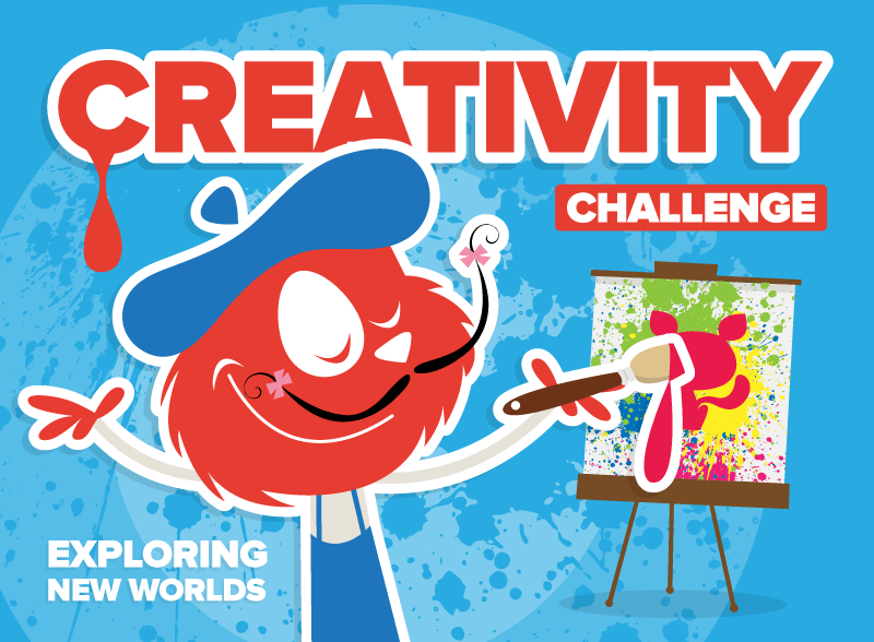 Creativity Challenge Exploring New Worlds