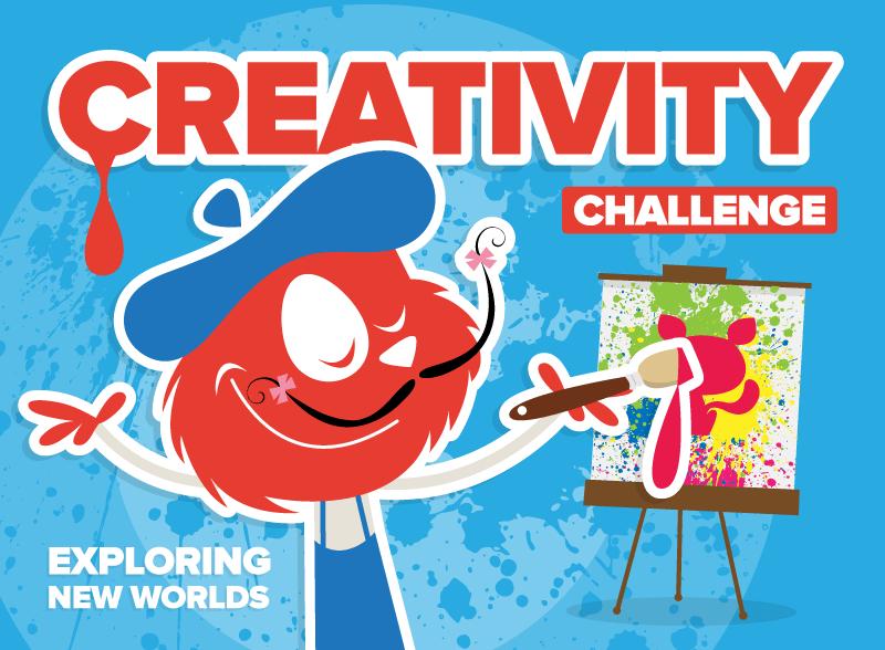 Creativity Challenge Exploring New Worlds