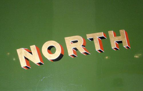 Detail of London and North-Eastern Railway tender.