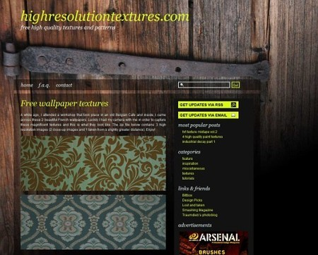 Textures and Patterns Design - highresolutiontextures.com - the home of high quality textures and patterns