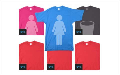 How to Make a Threadless Style T-Shirt Gallery