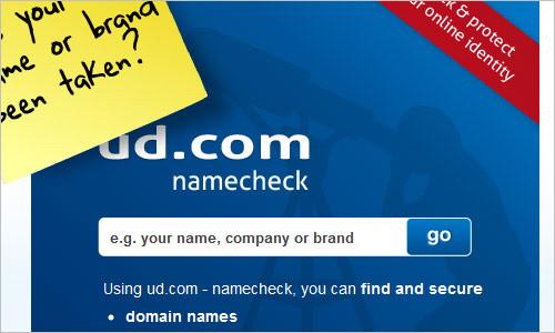 ud.com namecheck