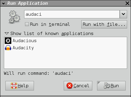 Application runner