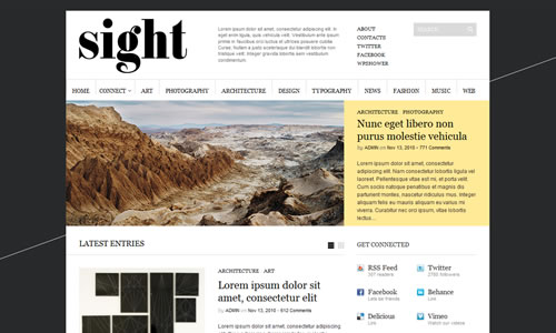 Sight Free WP Theme