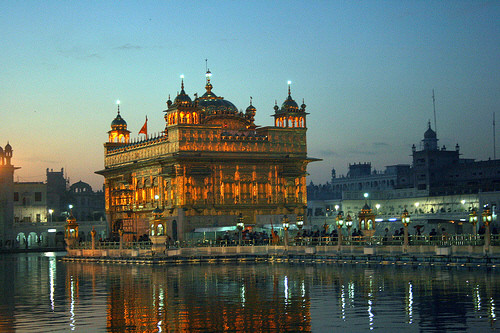 Golden Temple before Sunrise