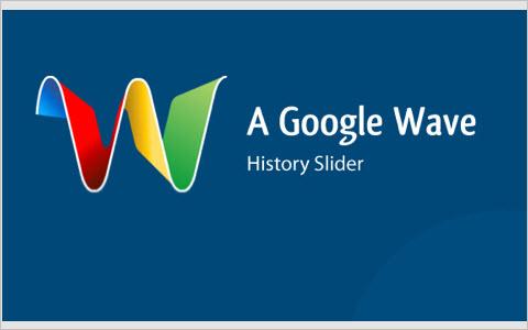 Making a Google Wave History Slider