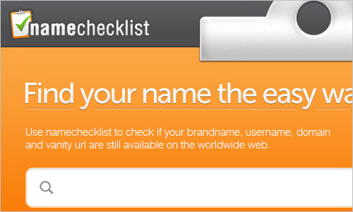 Find your name the easy way!