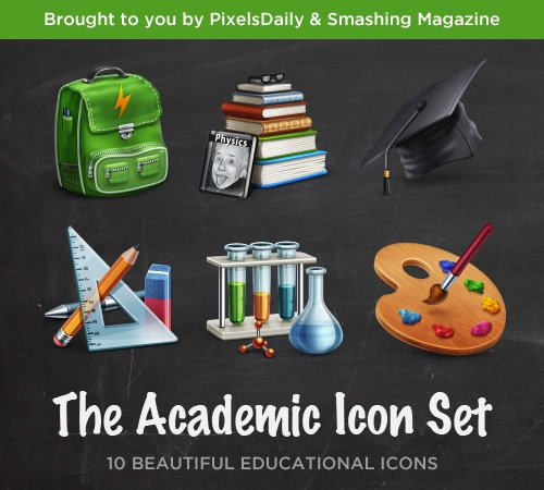Freebie: Academic Icon Set Release