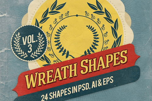 Wreath shapes