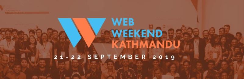 Web Weekend Kathmandu 2019