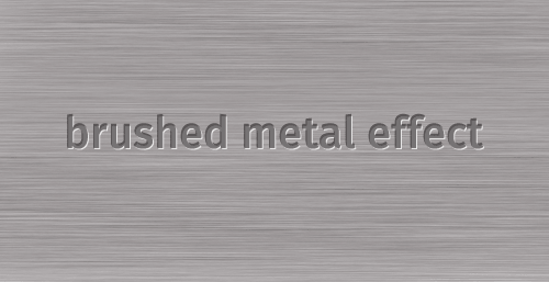 Brushed Metal Effect in Adobe Fireworks
