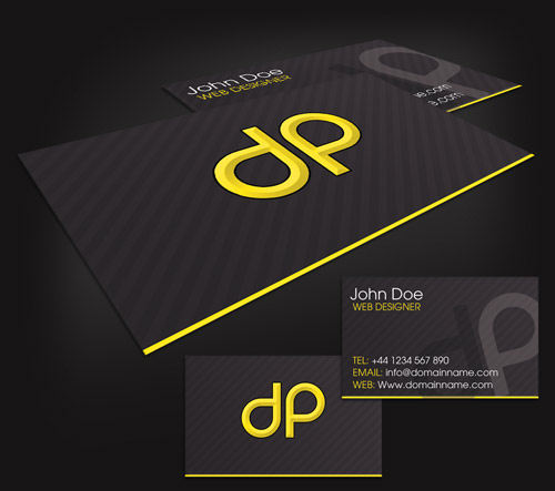 Business card design starter kit showcase tutorials templates how to make a print ready business card in photoshop in this tutorial you will learn how to create a two sided business card with crop marks and bleed reheart Images
