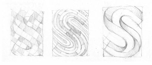 My sketches for the cover design