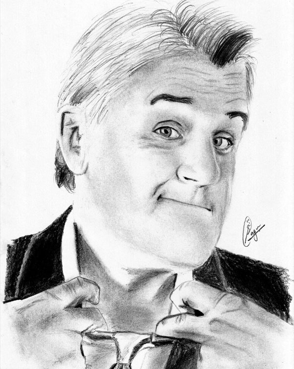 Jay Leno Drawing