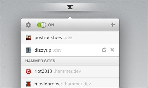 Anvil for Mac - Run your sites locally