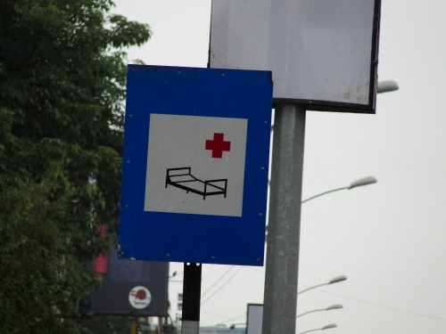 Wayfinding and Typographic Signs - home-for-rash-drivers