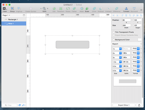 Exporting a slice in Sketch