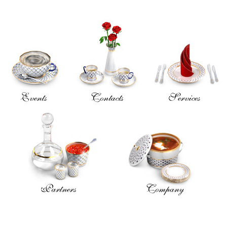 Imperial Porcelain Icons Set