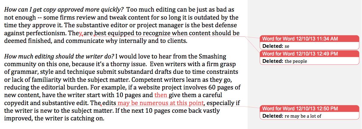 Business Content Editing Tips — Smashing Magazine