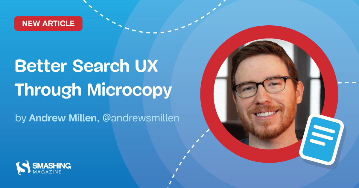 Better Search UX Through Microcopy